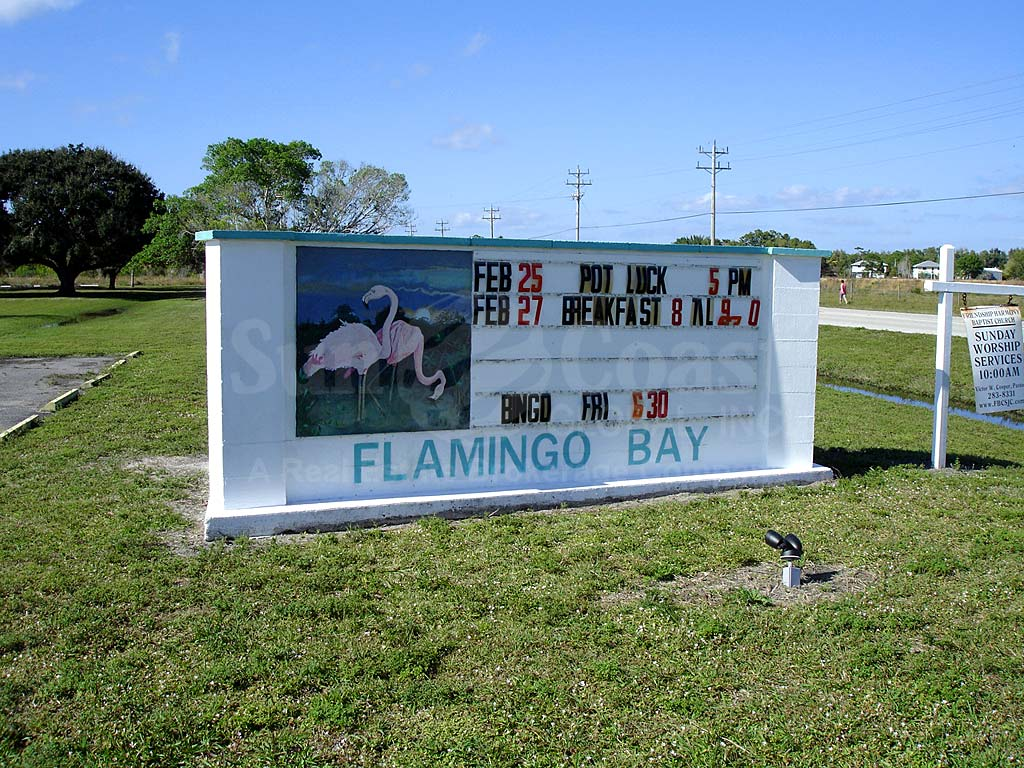 Flamingo Bay Signage